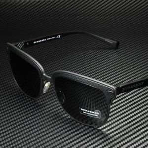 Burberry Matte and Rubber 56mm Sunglasses